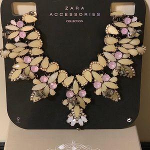 Zara wide statement Necklace